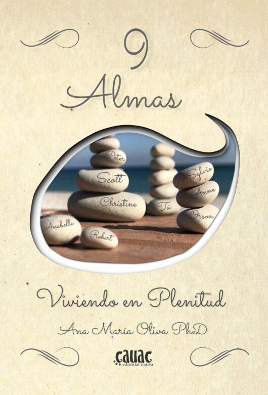 Portada 9 Almas - Ana María Oliva