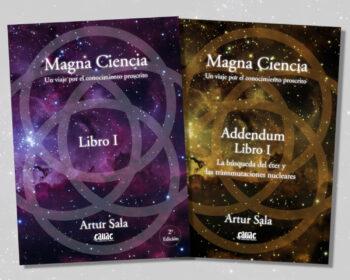 portadas unificadas de la primera parte de la obra Magna Ciencia